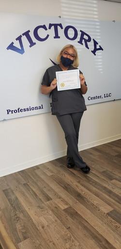 Ms. Naomi Kinard Medical Assistant graduate