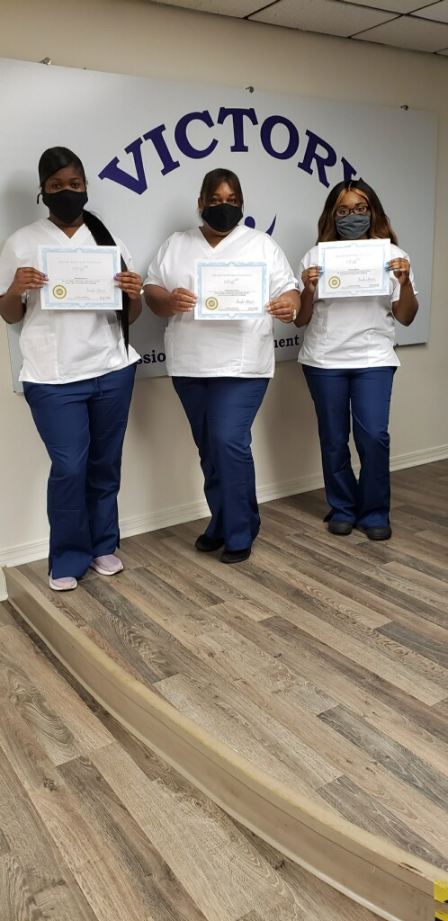EKG Technician graduates