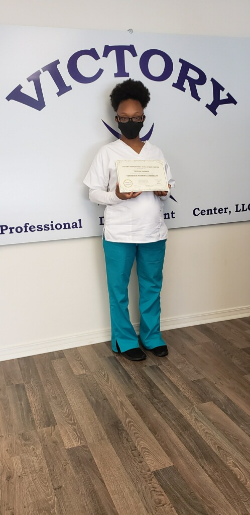 Certified Nursing Assistant (CNA) graduate from our Mobile campus