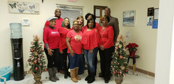 VPDC staff at Christmas party