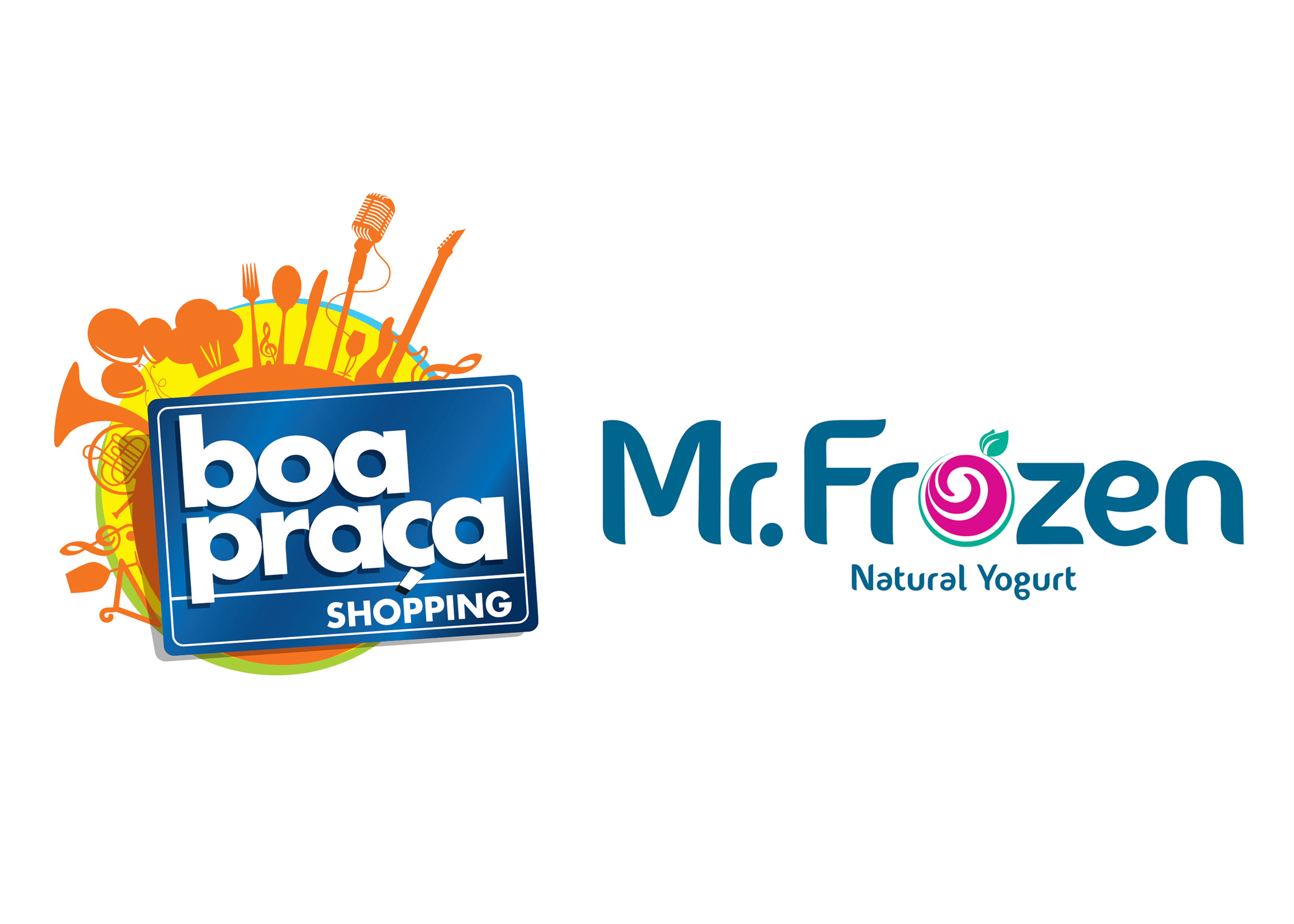 LOGO BOA PRAÇA e MR.FROZEN