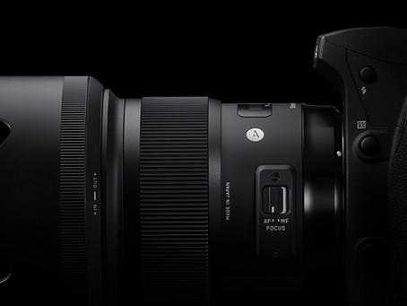 Novinka v batohu - objektiv Sigma ART 50 mm f/1,4 DG