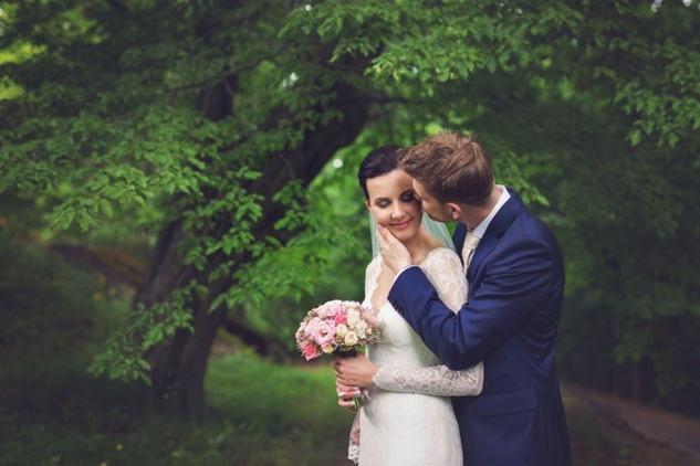 Portrét novomanželů