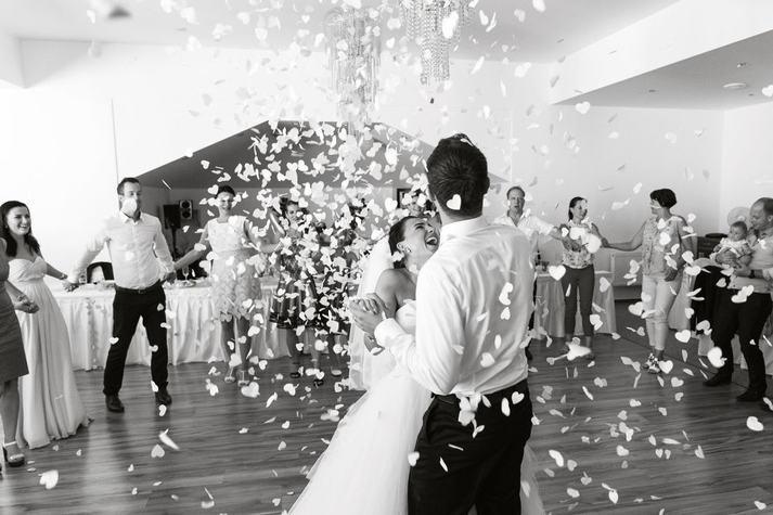 První tanec novomanželů