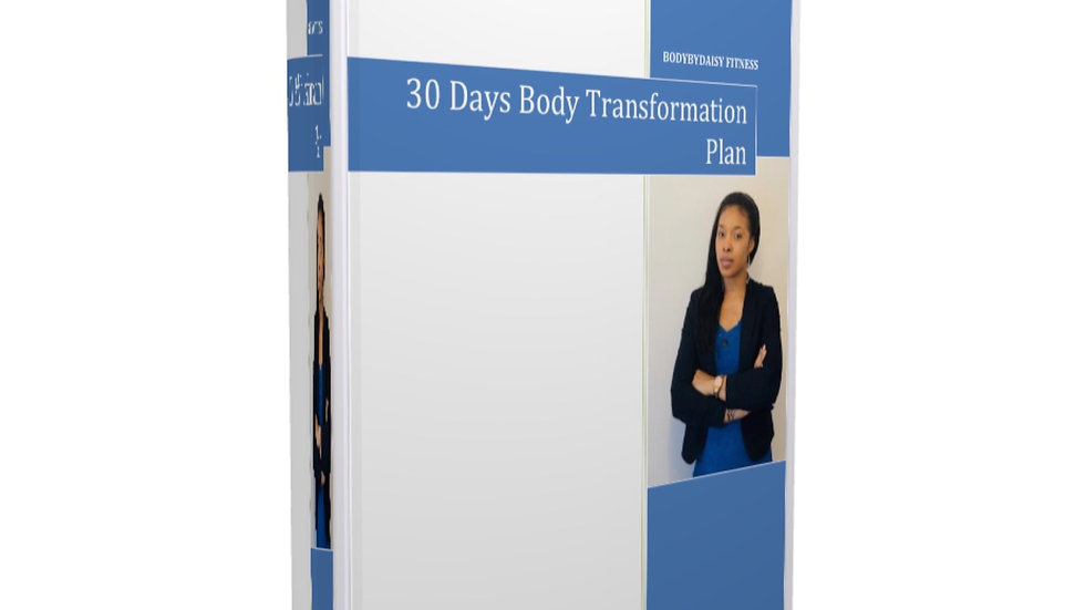 30 Days Body Transformation Ebook
