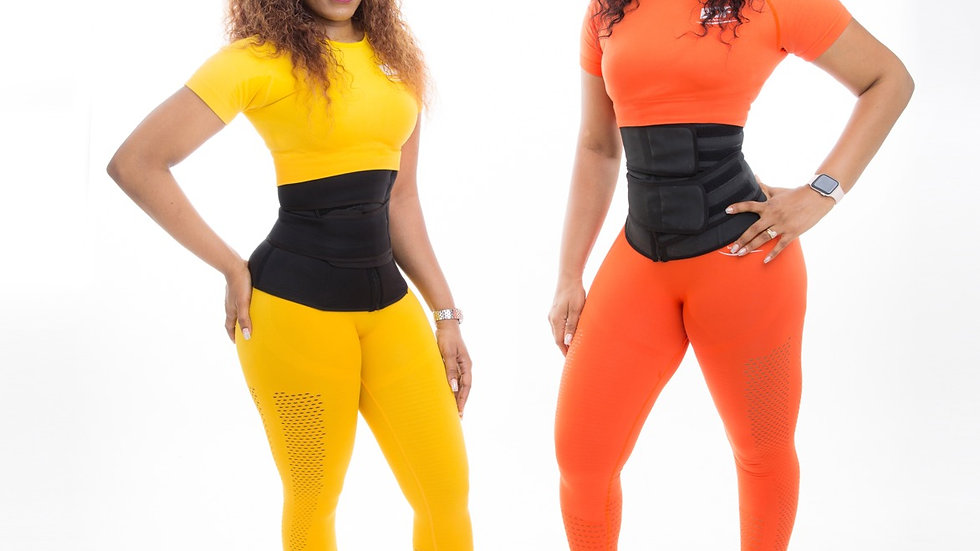 Latex Waist Trainer - double compression