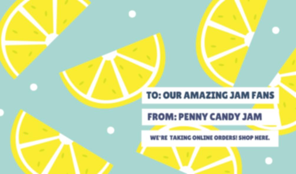 Sky Blue Lemon Pattern Gift Tag.png