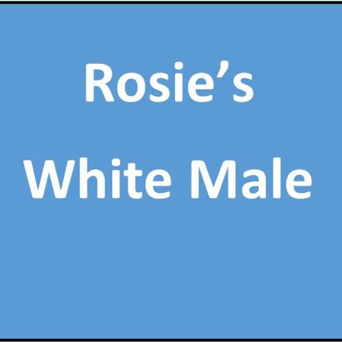 Rosie's White Male Puppy