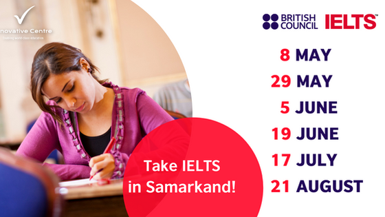 Take IELTS in Samarkand!