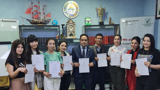 Teachers of Innovative Centre completed IELTS Teacher Training by British Council