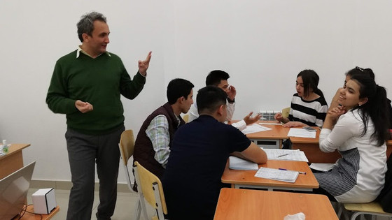 Murad Ismailov has conducted learner training at Innovative Centre