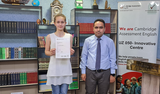 More than 10 students of Innovative Centre received B2 in May Cambridge Exams.