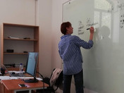 Teacher Training conducted by Natalia Tsarikova at Innovative Centre