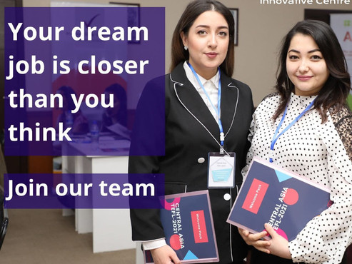 Your dream job is closer than you think - Join our team!