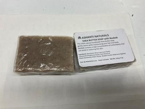 SHEA BUTTER SOAP WITH BAOBAB