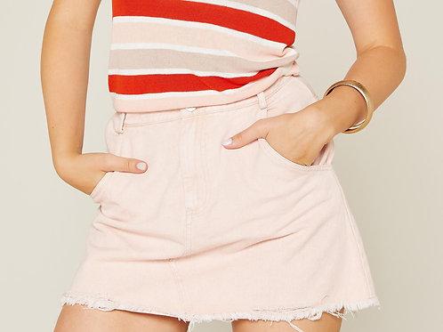 Real Love Denim Skirt