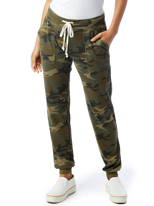 Camouflage Long Weekend Jogger