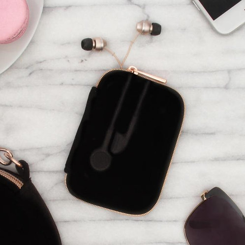 Ear Bud Case-Vixen Black