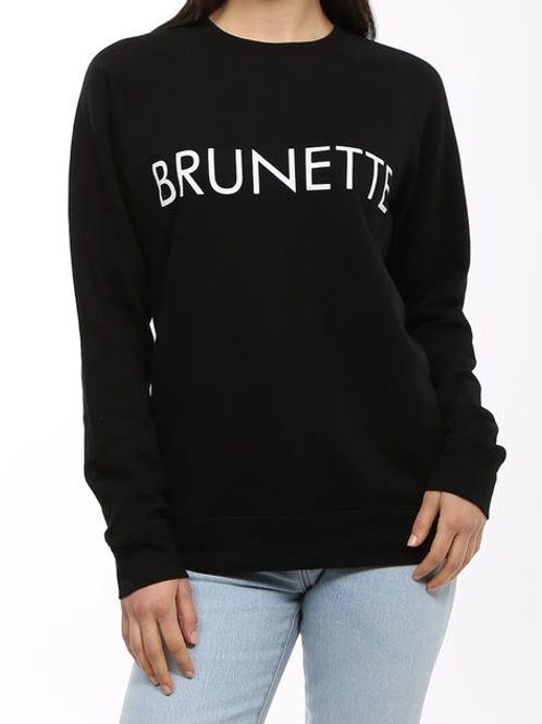 Brunnette Classic Crew Neck Sweater