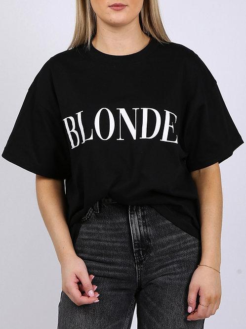 Blonde Boxy Tee