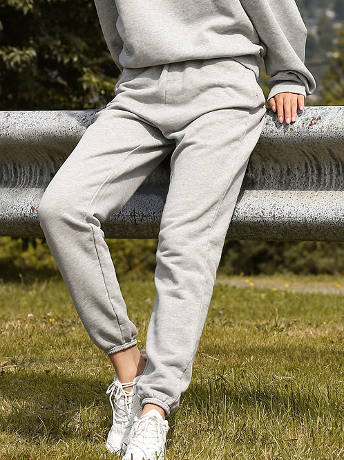 Brunette The Label High Rise Jogger-Grey