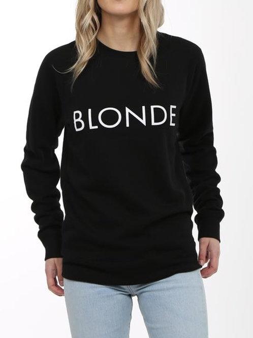 Blonde Classic Crew Neck Sweater