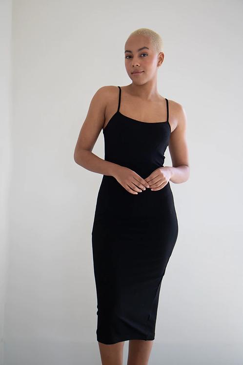 Rowe Ribbed Midi Dress