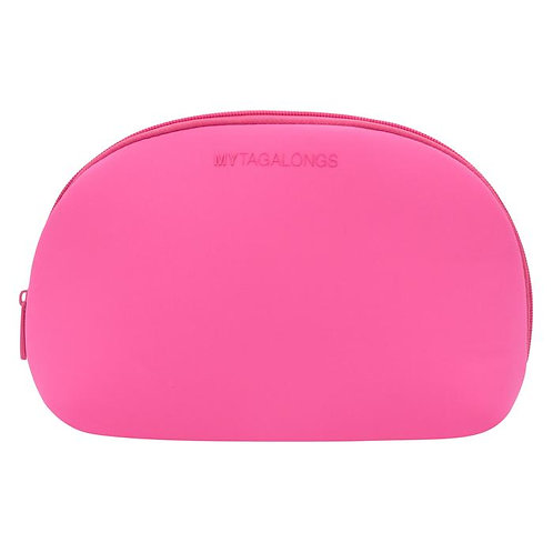 Dome Cosmetic Case-Pink