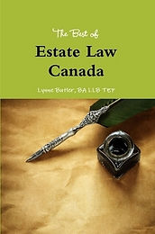 The Best of Estate Law Canada book