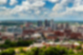 Downtown Birmingham, Alabama, from Vulca