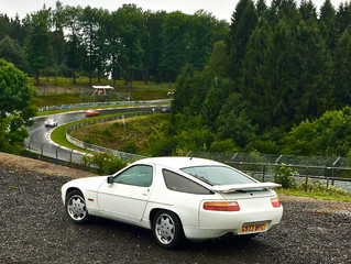 Silverstone to Nürburgring & back - 928 miles in a 928