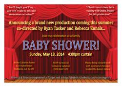 Ryan & Rebecca Baby Shower Invite