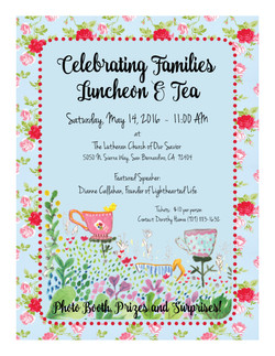 LCOS Celebrating Families Flyer