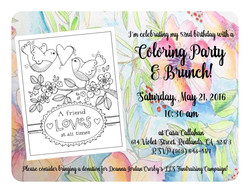 May 2016 Coloring Party