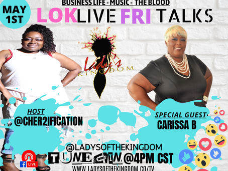 Carrisa B is coming to LOK
