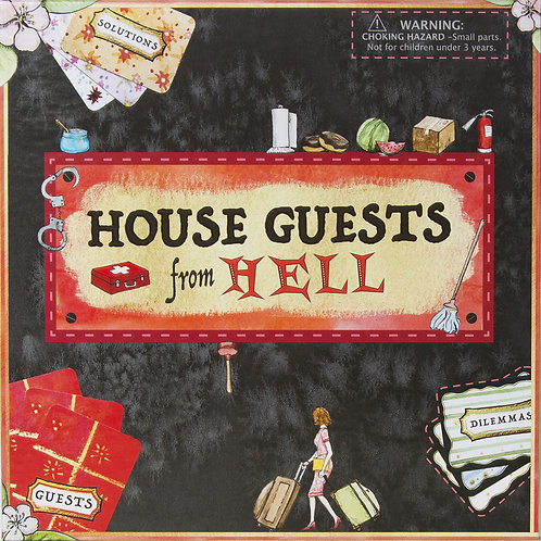Board Game: House Guests From Hell