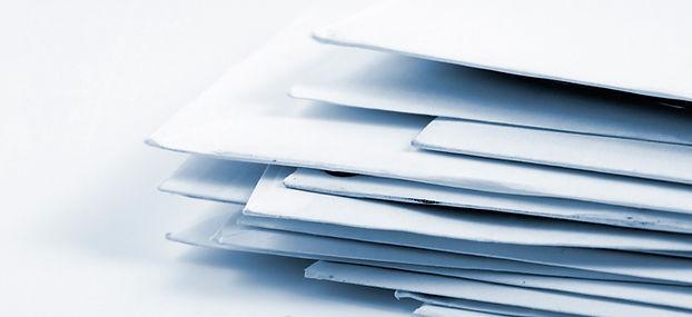 Stak af konvolutter