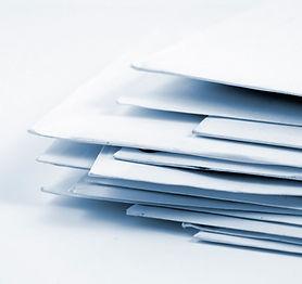 Стек конвертах