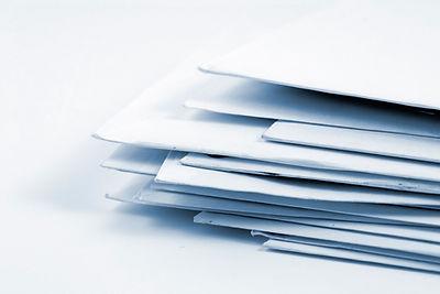 Pile d'enveloppes