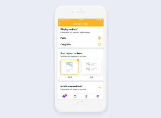 Introducing New Display Settings and more for the Wix Mobile App