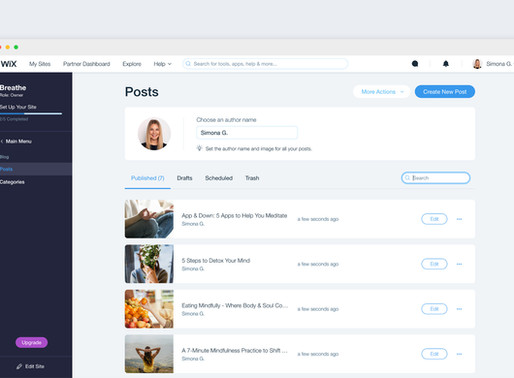 Now You Can Search For Your Post In The Blog Manager!