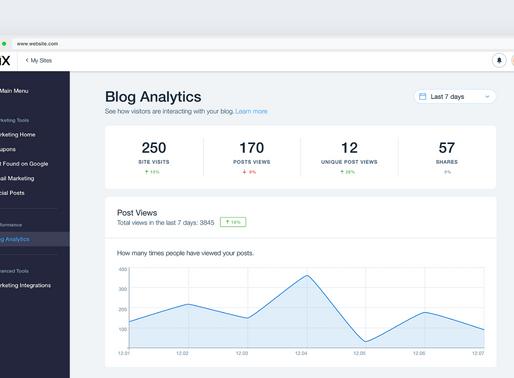 Introducing Blog Analytics!