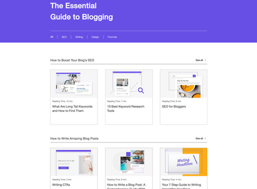 Introducing Wix Blog's Essential Guide to Blogging