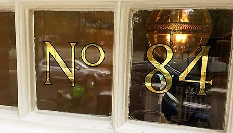House numbering #23ctgold #goldleaf #rev