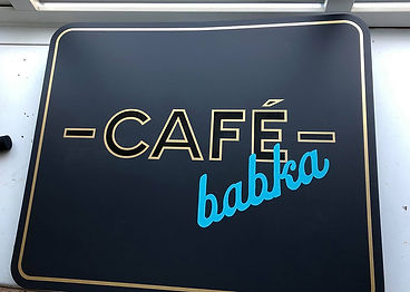 cafe babka hanging sign board.jpg