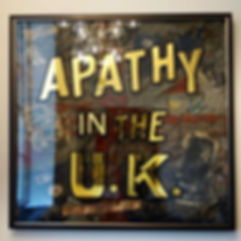 gold lef gilding, reverse glass gilding, anarchy in the uk