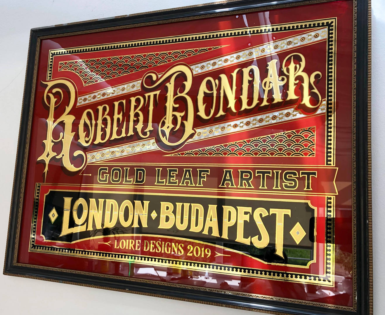 Robert Bondar glass gilding.jpg
