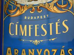 Budapest Címfestés