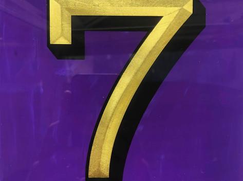 gilded housenumber