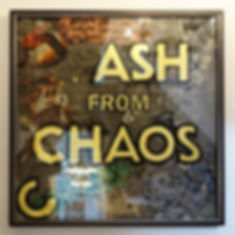 cash from chaos, ash from chaos, gold leaf gilding
